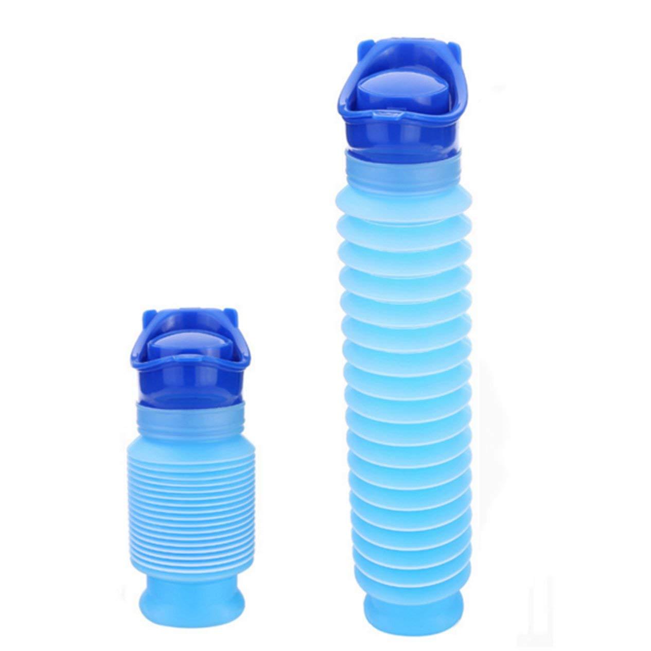 Blau Kinder Urinale Tragbare Kind-Kleinkind Potty Urinal f/ür Reise Cartoon Urineimer Leakproof Dichtung