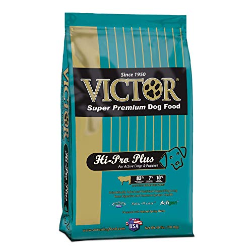 Victor Hi-Pro Plus Dry Dog Food, 40 Lb. Bag