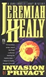 Invasion of Privacy, Jeremiah Healy, 0671898744