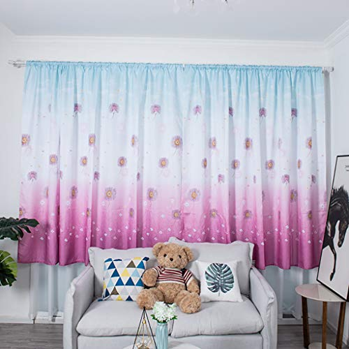 Juesi Hydrangea Room Curtain Panels, Rod Pocket Home Decoration Window Treatments Drapes for Kid Room Bedroom Living Room Nursery Room, 78''x39'' from Juesi