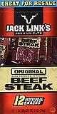 #7: Jack Links Premium Cut Original Beef Steak Jerky 12 Individual Packs - 1 Oz each (pack of 2)