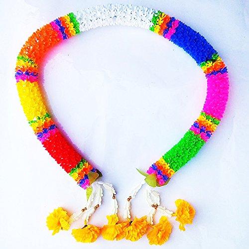 48 inches Amulet Muay Thai Boxing Sacred Jasmine Beautiful Flower Plastic Garland by chantubtimplaza