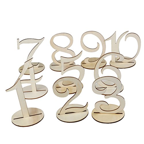Tinksky Numbers Wedding Birthday Decoration
