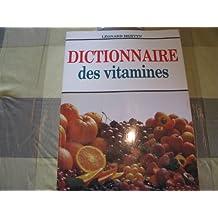 Dictionnaire des vitamines