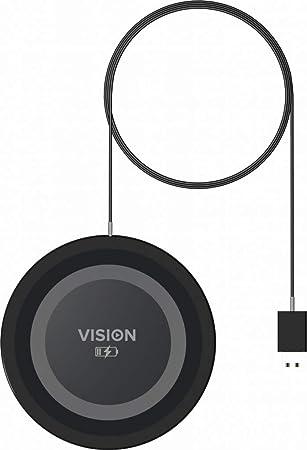 Vision TC-QI - Cargador (Interior, CC, 9 V, 1 m, Negro, Gris ...