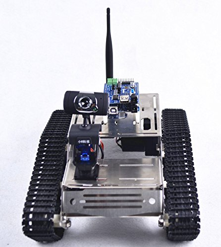 Makerfire arduino fpv robot car kit wifi utility