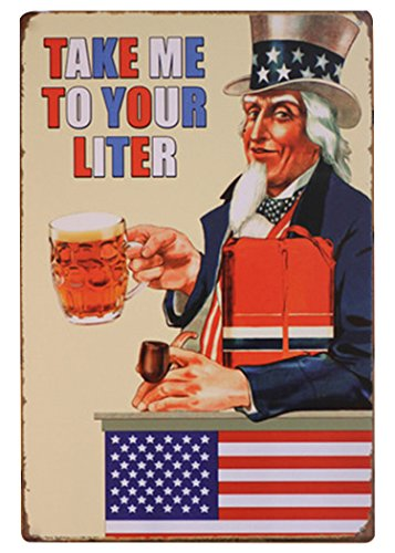 FLY SPRAY Decorative Uncle Sam Signs Tin Metal Iron Sign Painting For Wall Home Office Bar Coffee - Sites Online Indian Purchase
