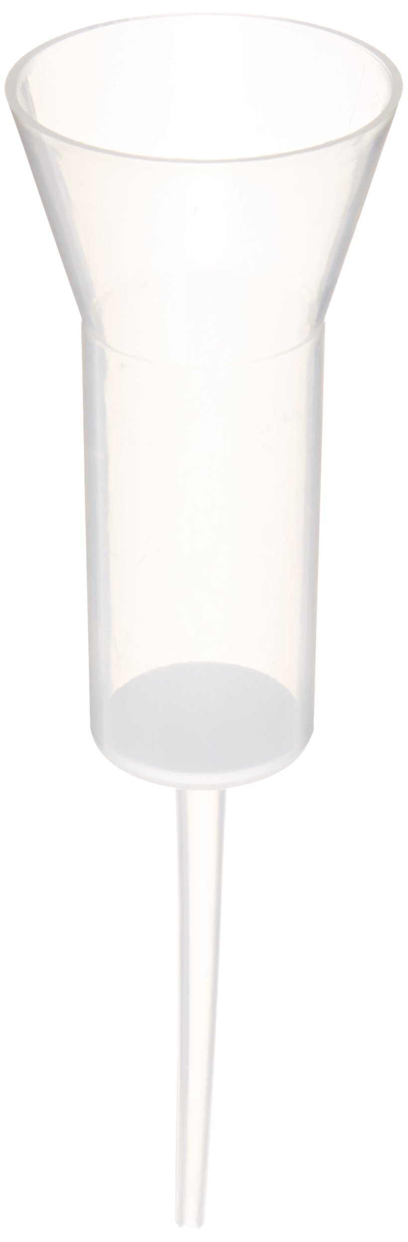 Chemglass OP-6602-C12 Polyethylene Frit Disposable Filter Funnel, Flared Top Style, 40mL Capacity (Pack of 24)