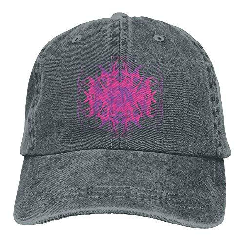 JHDHVRFRr Hat Pink Design Denim Skull Cap Cowboy Cowgirl Sport Hats for Men Women
