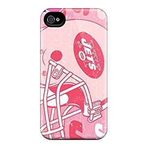 Durable Hard Cell-phone Case For Iphone 6 (sDv6504pMnJ) Provide Private Custom HD New York Jets Pattern