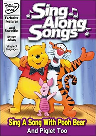 Amazon Com Disney S Sing Along Songs Sing A Song With Pooh Bear