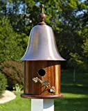 Heartwood 062B Ivy Bird House with Mahogany Copper Roof Review