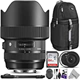 Sigma 14-24mm f/2.8 DG HSM Art Lens for Canon EF w/Sigma USB Dock & Advanced Photo...