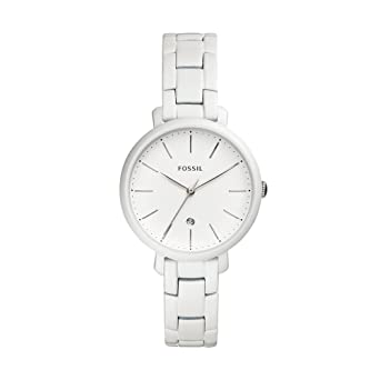 82c2a9859321 Fossil Women s Jacqueline Analog-Quartz Watch with Stainless-Steel Strap