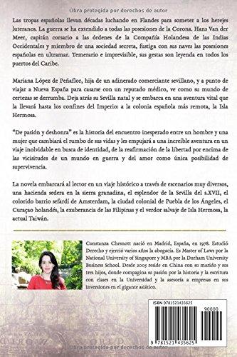 De pasión y deshonra: Romance histórico Spanish Edition: Amazon.es: Constanza Chesnott: Libros