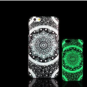 For iPhone 7 Plus Case, Glow in the Dark Aztec Mandala Pattern TomCase Fluorescent Back Cover for iPhone 7 Plus Case 5.5 inch, P13