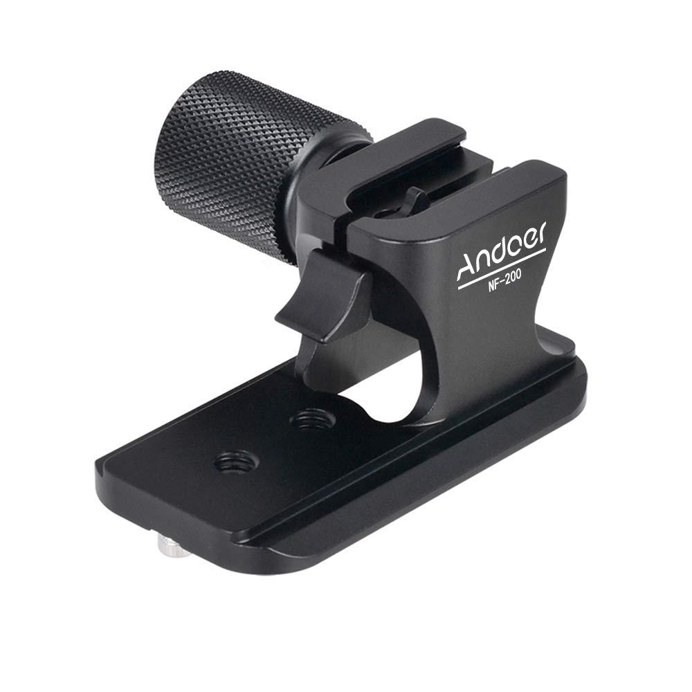 2.8 VR y VRII Lente Andoer/® Placa Soporte de lente Metal QR liberaci/ón r/ápida Tipo de Arca-Swiss Placa de lentes para Nikon 70-200 mm f