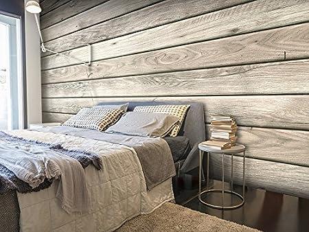 murando Papier peint intiss/é 350x256 cm D/écoration Murale XXL Poster Tableaux Muraux Tapisserie Photo Trompe loeil bois textures f-A-0450-a-b