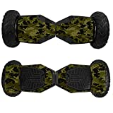 Skin for Swagtron T6 Off-Road Hoverboard - Green Camouflage| MightySkins Protective, Durable, and Unique Vinyl Decal wrap cover | Easy To Apply, Remove, and Change Styles | Made in the USA