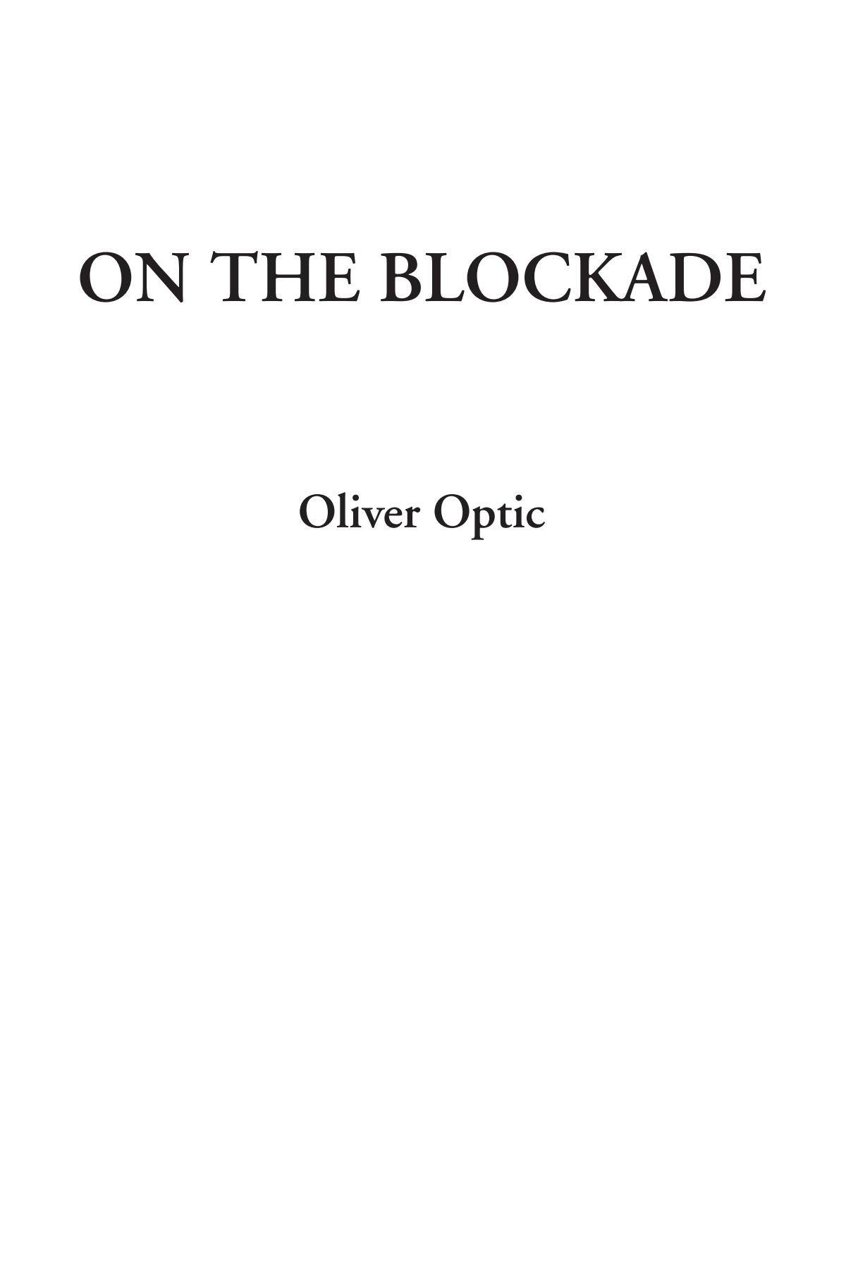 On The Blockade pdf epub