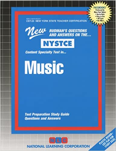 Music (NYS Teacher Certification) (NYSTCE (New York State Teacher ...