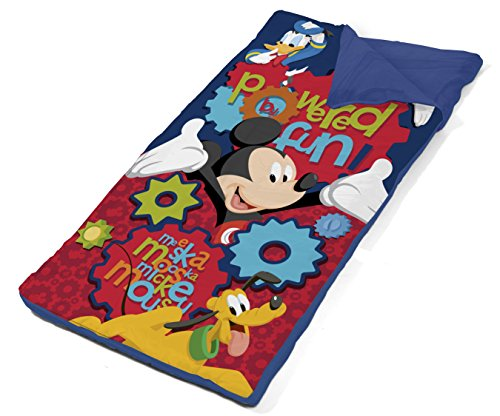 Disney Mickey Mouse Drawstring Carry Bag With Nap Mat