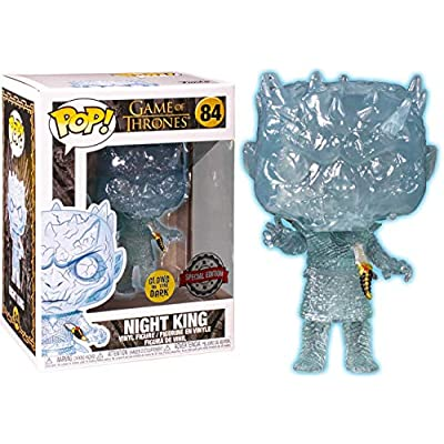 Funko Pop Game of Thrones Crystal Night King w/ Dagger Glow: Toys & Games