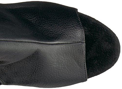 2018 black Boot faux Adore matte black leather High Women's Knee Pleaser HWwFgq4En