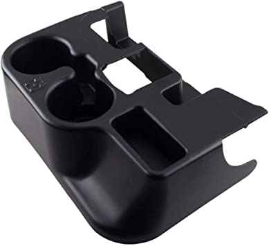 Black OxGord Center Console Cup Holder Attachment for 2003-2012 Dodge Ram 1500 2500 3500 Vehicles