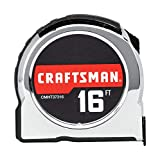 CRAFTSMAN Tape Measure, Chrome Classic, 16-Foot