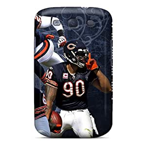 [rco13021zMKw]premium Phone Cases For Galaxy S3/ Chicago Bears Tpu Cases Covers