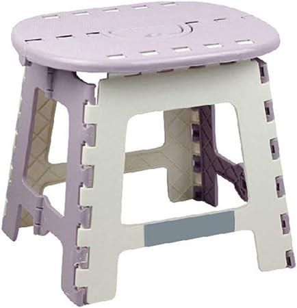 Keduoduo Portable Kids Multi Folding Step Stool With Handle Purple Amazon Co Uk Kitchen Home