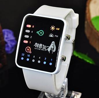 Cosplay Costume Anime Watch Wrist Watch with Cool Led Hatsune Miku & Cosplay Costume Anime Watch Wrist Watch with Cool Led Hatsune Miku ...