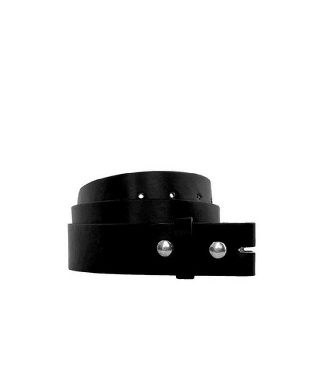 All Color Leather Belt For All Buckles, LARGE, BLACK