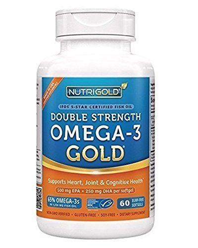 NutriGold Strength Omega 3 Omega 3s Softgel product image