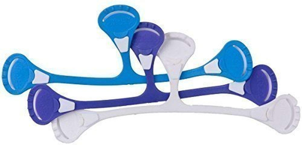 Popolini 090195-00//01 paquete colorido Snappi pa/ñal Clip 3