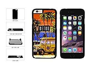 Funny Retro Trip Plastic Phone Case Back Cover Apple iphone 5 5s ( es screen) includes fashion case Cloth and Warranty Label