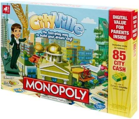Hasbro Games - Juego de Mesa Monopoly Cityville (Contenido en inglés): Monopoly Cityville Family Board Game: Amazon.es: Juguetes y juegos
