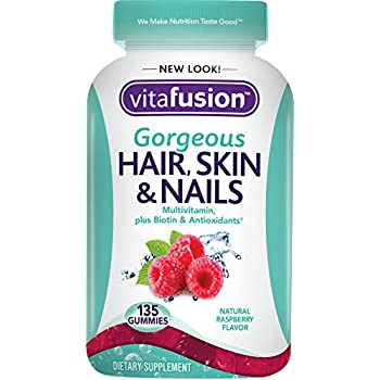 Vitafusion Gorgeous Hair, Skin & Nails Multivitamin, 135 Count