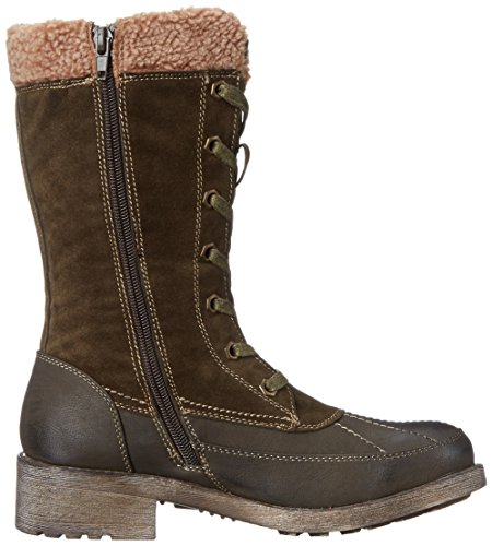 Muk Luks Womens Lori Winter Boot Army Green 1rBPv6V0f5