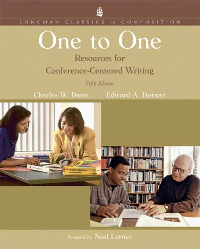One to One: Resources for Conference Centered Writing, Longman Classics Edition (5th Edition)