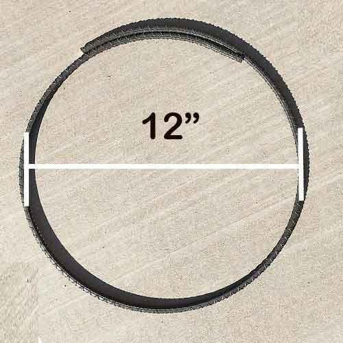 Rebar Ring #3 12'' Diameter with Overlap - Pack of 10