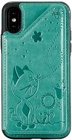 iPhone 11 Pro Max レザー ケース, 手帳型 アイフォン 11 Pro Max 本革 カバー収納 ポーチケース 高級 ビジネス 財布 無料付スマホ防水ポーチIPX8