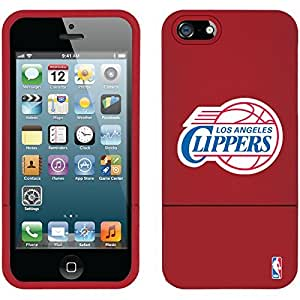 Coveroo iPhone 5/5S Red Slider Case with LA Clippers Logo Design