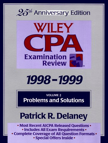Wiley CPA Examination Review, Problems and Solutions (25th Edition. Vol 2 of a 2 Volume Set) (Volume 2)