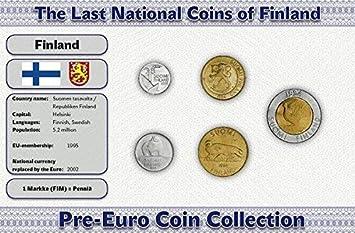 IMPACTO COLECCIONABLES Monedas PRE Euro de Finlandia - 5 Monedas ...