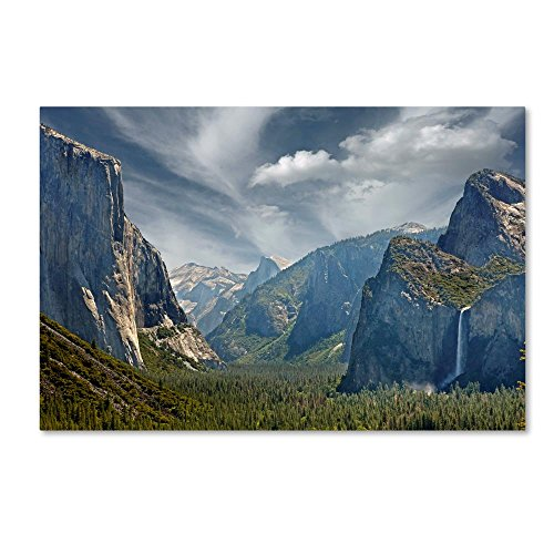 - Tunnel View by Mike Jones Photo, 16x24-Inch Canvas Wall Art