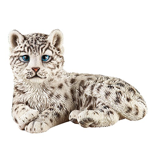Collections Etc Snow Leopard Outdoor Garden Statue Animal Decoration