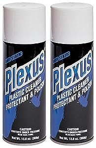 Plexus 20214-2PK-2PK Plastic Cleaner and Polish - 26 fl. oz, (Pack of 2)