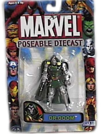 Marvel Poseable Diecast Dr. Doom Figure